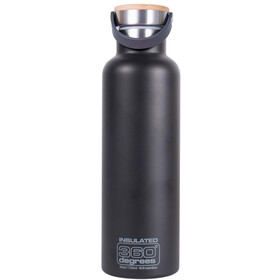 360° degrees Vacuum Narrow Mouth Borraccia 750ml, black
